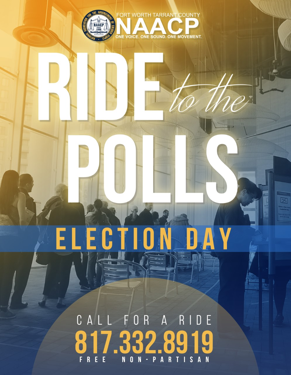 Ride to the Polls Flier